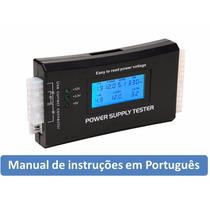 Testador Fonte Atx Digital Sata Ide Lcd 20/24 Pinos