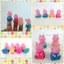 Kit Dedoches 2 Familia Peppa Pig Fantoches Infantil De Dedo