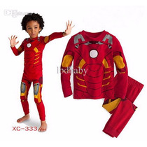 Pijama Homem De Ferro