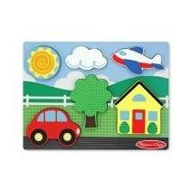 Quebra Cabeça Casa Amarela - Melissa & D,brinquedos Infantil