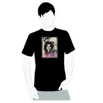Camisa De Qualidade- Algodão- Reggae - Quadro Bob Marley