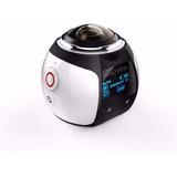 Camera Pro 360° Ultra Hd +óculos Vr 3d +controle Remoto