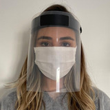 Máscara Visor Facial Proteção Total Do Rosto - Face Shield