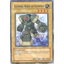 Clayman, Herói Do Elemento Tlm-pt003 Elemental Hero Clayman