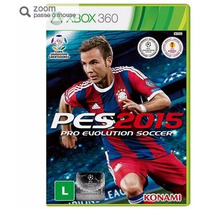 Game Pro Evolution Soccer 2015 - Xbox360