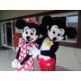 Mascote Fantasia Mickey E Minnie