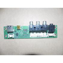 Placa Usb-av-lateral Tv Semp Toshiba Lc3246 Fda