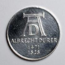 Moeda Prata Alemanha Comemorativa De 5 Marcos Ano De 1971