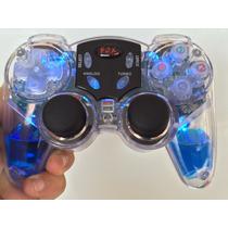 Controle Wireless Sem Fio Pc Usb Lava Glow Com Agua E Led