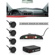 Kit Sensor Estacionamento Ré Sensores Led Sinal Sonoro