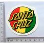Adesivo Santa Cruz Rasta Skate Classico Bob Marley