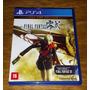 Final Fantasy Type-0 Mídia Física Playstation 4 Ps4 Original comprar usado  Osasco