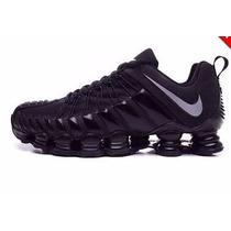 Novo Nike Shox Tlx 12 Molas Geração 2015 Original