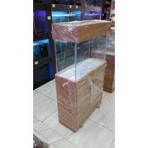 Aquario Com Movel 80x30x50 120 Litros
