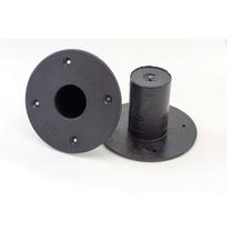 Suporte Plastico (01 Pc) Para Caixa De Som Tipo Chapeu
