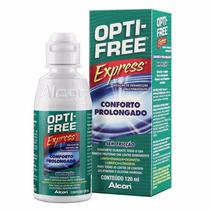 Opti-free Express Para Lentes De Contato 120ml