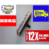 Potenciômetro Value Teclado Korg I30 I3 I2 C/protetor Pó