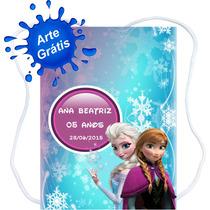50 Mochilinhas Personalizadas Frozen- +excelenteproduto