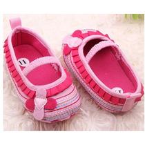 Sapatinho Sapato Tênis Bebe Importado Rosa Lilás 3-12 Meses