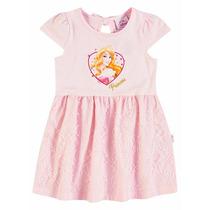 Vestido Infantil Princesas Disney Brandili B 31923.004
