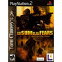 The Sum Of All Fears - Ps2 Patch + Encarte
