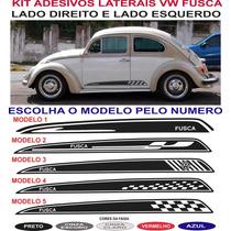 Acessorio Adesivo Lateral Vw Fusca Brasilia Sport Kit