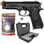 Pistola airsoft Cybergun Taurus Pt92   Maleta Rossi  2000bbs