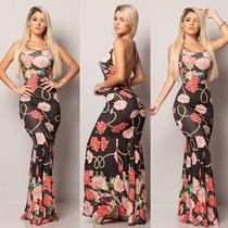 Busca Vestido Longo Floral Com Os Melhores Preços Do Brasil