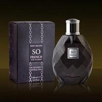 Perfume New Brand So French Women 100ml