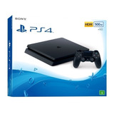 Ps4 Playstation 4 Slim 500gb Em Campinas Sp Com Nota Fiscal