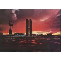 21822- Postal Brasilia, D F - Por Do Sol Praça 3 Poderes