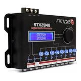 Processador De Audio Stetsom Stx2848 2 Canais 8 Saídas
