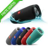 Caixa De Som Portátil Jbl Charge 3+ Bluetooth Pronta Entrega