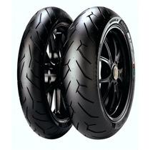 Pneu Pirelli Diablo Rosso 2 150/60r17+110/70r17 (ninja/cb300