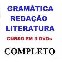 Gramática + Literatura + Redação - Aulas Pague Mercado Pago