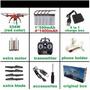 Drone Syma X5sw 5 Baterias Caixa Original Acessórios 33itens