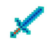 Espada Diamante Minecraft - 60 Cm - Garantia Inmetro