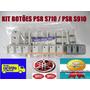 Botões Abcd + Break + Start / Stop Teclado Yamaha Psr S710
