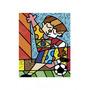 Poster (28 X 36 Cm) I Love Soccer Romero Britto