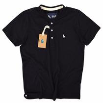Camisa Camiseta Polo Gola Redonda, Nova Coleção Varias Cores