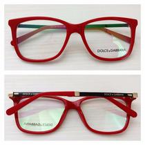 Armação Óculos De Grau Acetato Feminino Dg3126