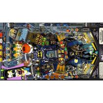 Simulador De Pinball Virtual 130 Mesas , Sistema Matriz