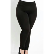 Calça Legging Cintura Alta Plus Size Leg Feminina G1 G2 G3