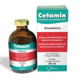 Cetamin 50 Ml Cloridrato De Cetamina - Original