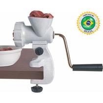 Moedor De Carne - Máquina Para Fazer Embutidos E Biscoitos