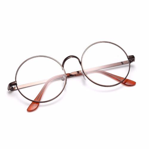 9f0e5f4980c5b Armação De Óculos D Grau Metal Redondo Harry Potter Bp