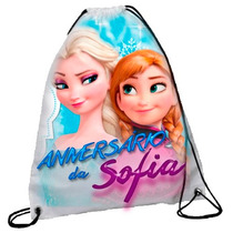 50 Mochilinhas Personalizadas Frozen Rj