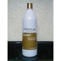 Hidratage Shampoo S/ Sal Óleo De Argan & Geleia Real 1 L.
