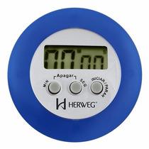 Timer Digital Contagem Regressiva Alarme Sonoro Herweg 3303a