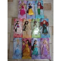 Princesas Disney 09 Bonecas Original Disney 30 Cm Articulada